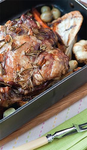 Slow Cooked Shoulder Lamb