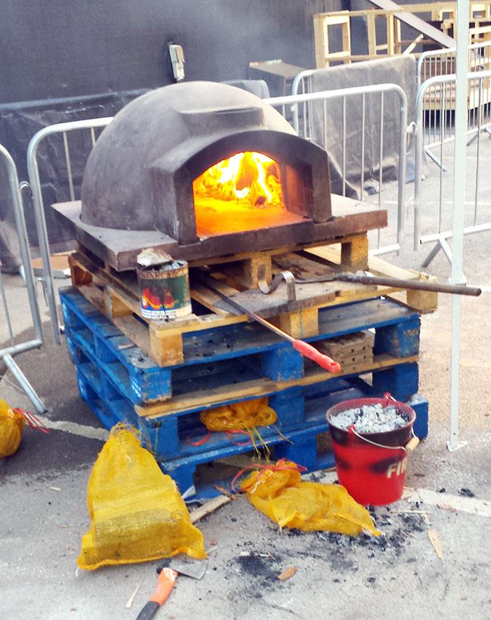 Pizza Pilgrims at Moretti Gran Tour