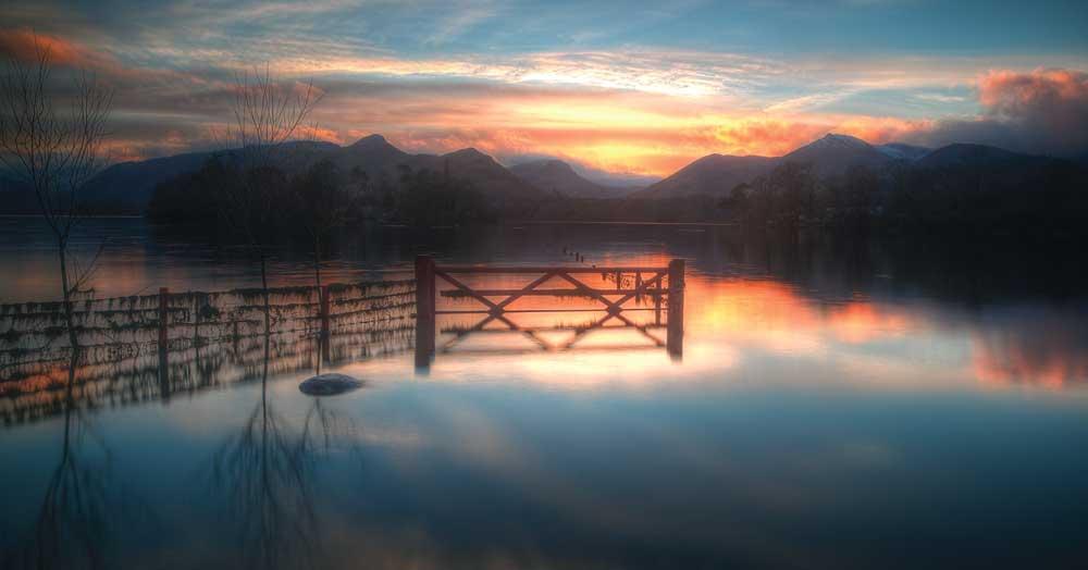 Derwentwater by Iain Fazackerley of Ribchester