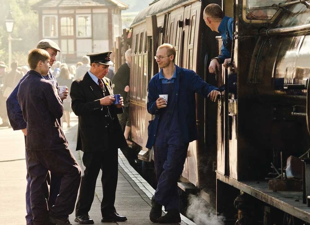 Embsay and Bolton Abbey Steam Railway by Stephen Root of Burnley