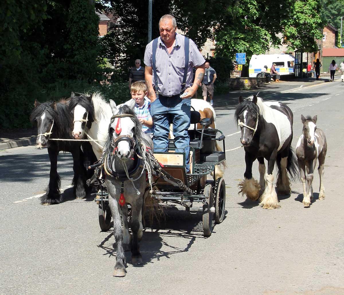 Appleby Horse Fair by Adrian Ashurst