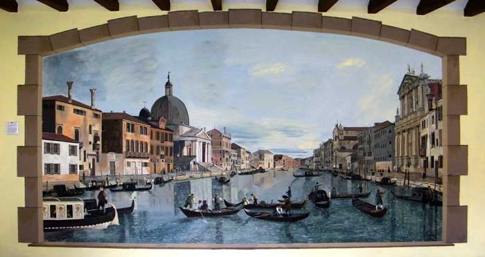 Canaletto mural