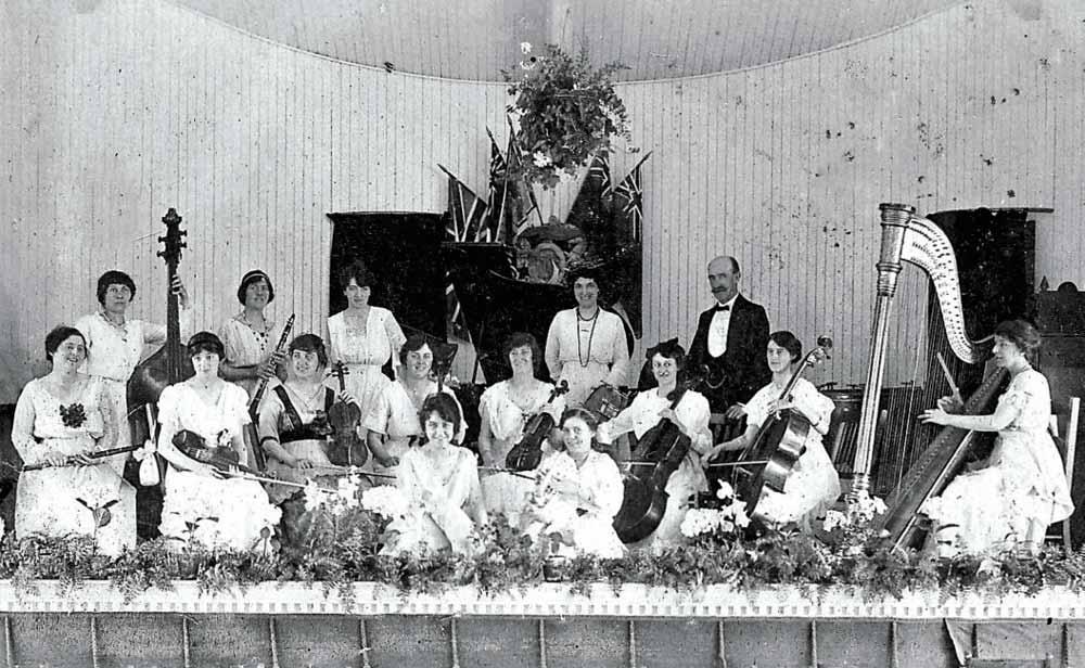 Herbert Whittaker's Ladies Orchestra