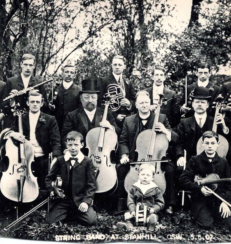 Stanhill string band 1907
