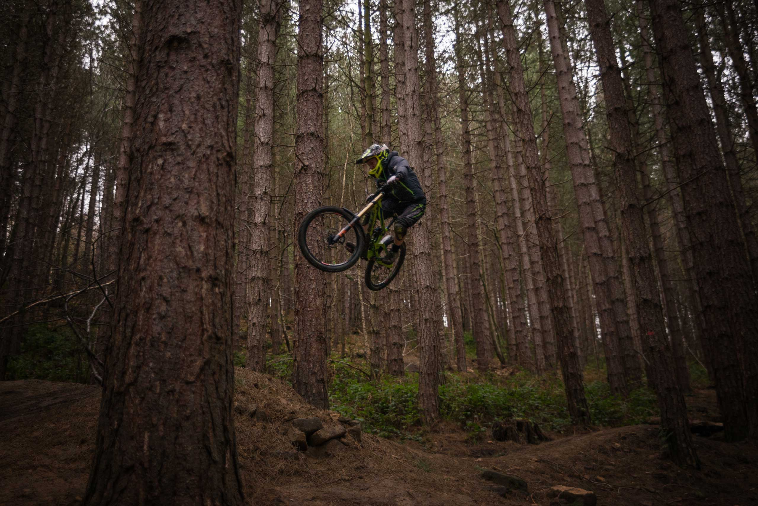'Flying' at Wharncliffe Wood • Andrew Whitham • Keighley