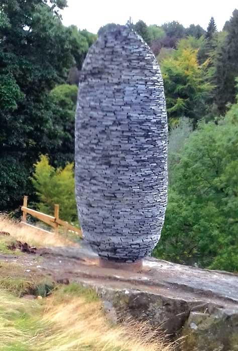 Fir Cone sculpture