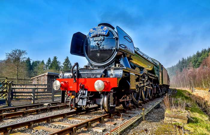 The Flying Scotsman once owned by Pete Waterman