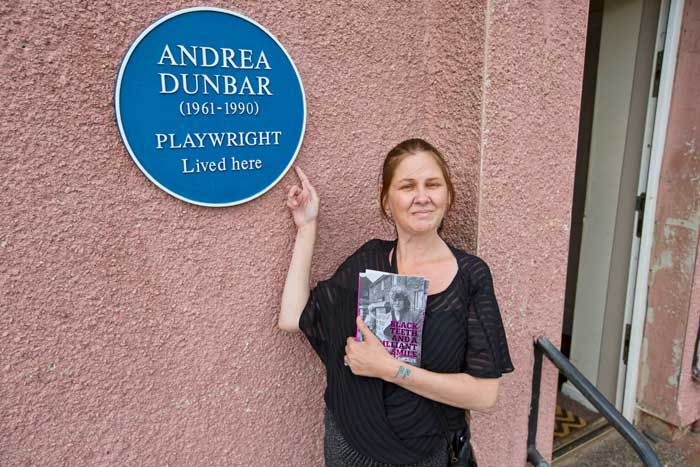 Andrea Dunbar blue plaque