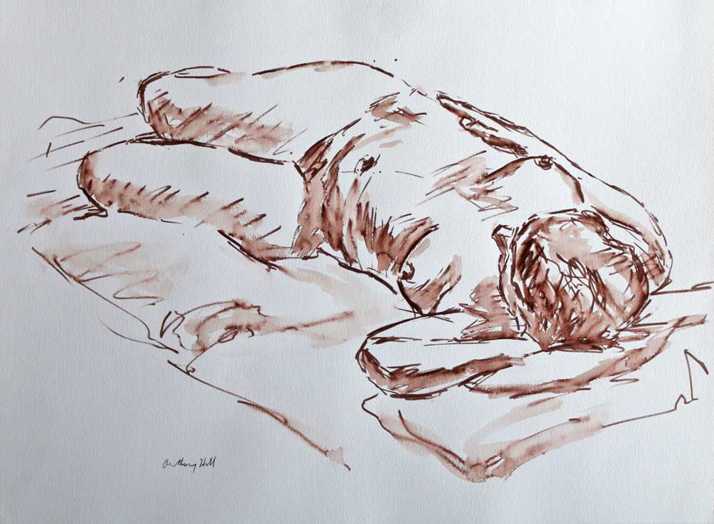 Reclining Nude - Anthony W Hill