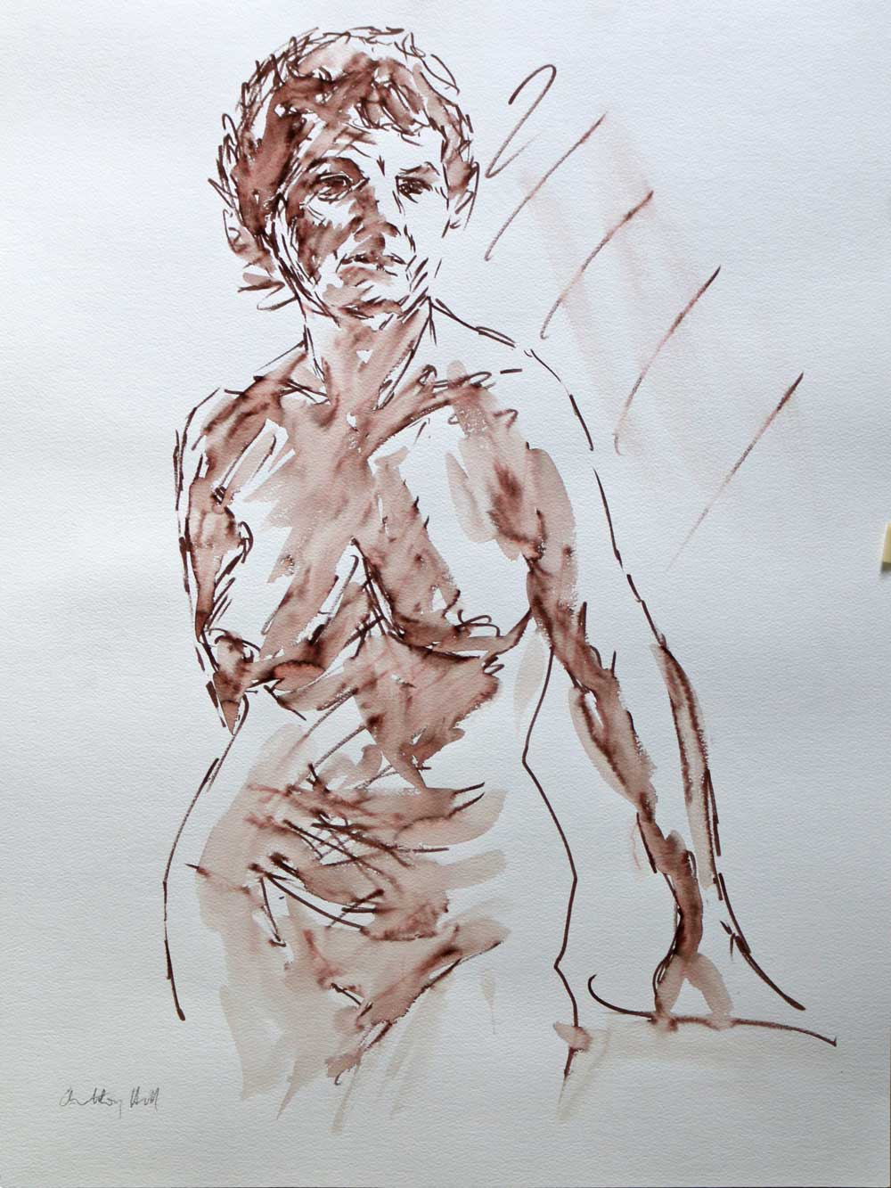Standing Nude - Anthony W Hill