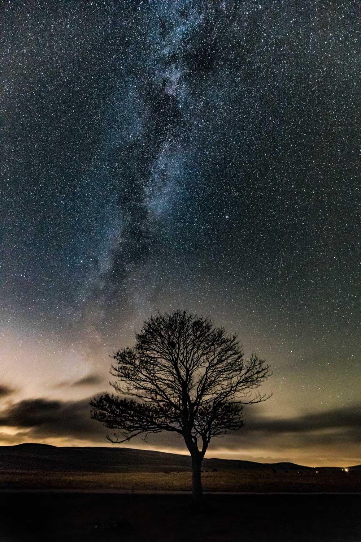 Milkyway Over Malham by Dave Zdanowicz