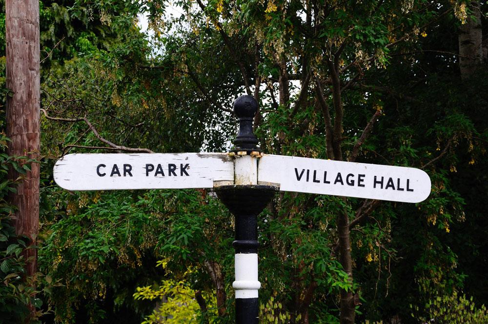 village halls week