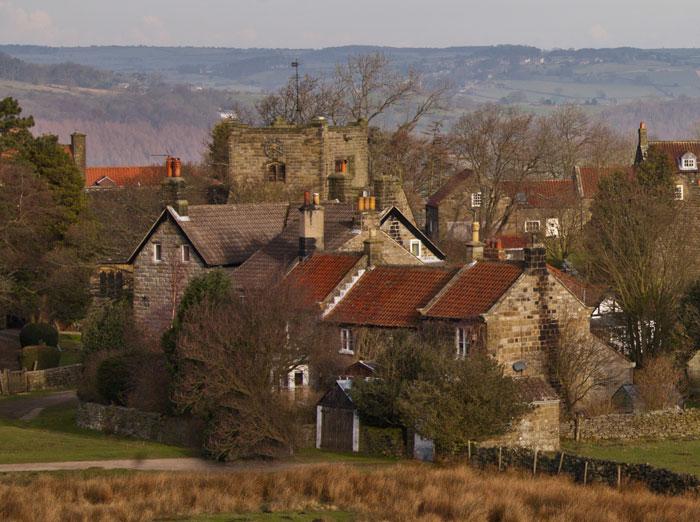 Goathland village