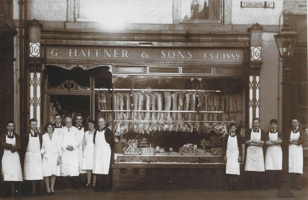 Haffner's shop