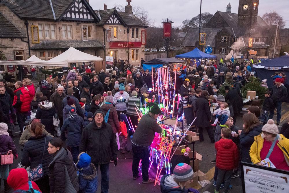 Burley Market scene Ian Lamond Photography