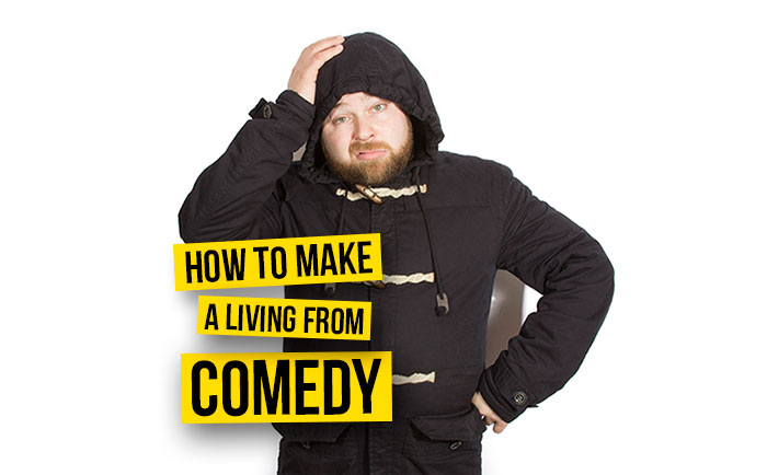 Tiernan Douieb - How to make a living from comedy