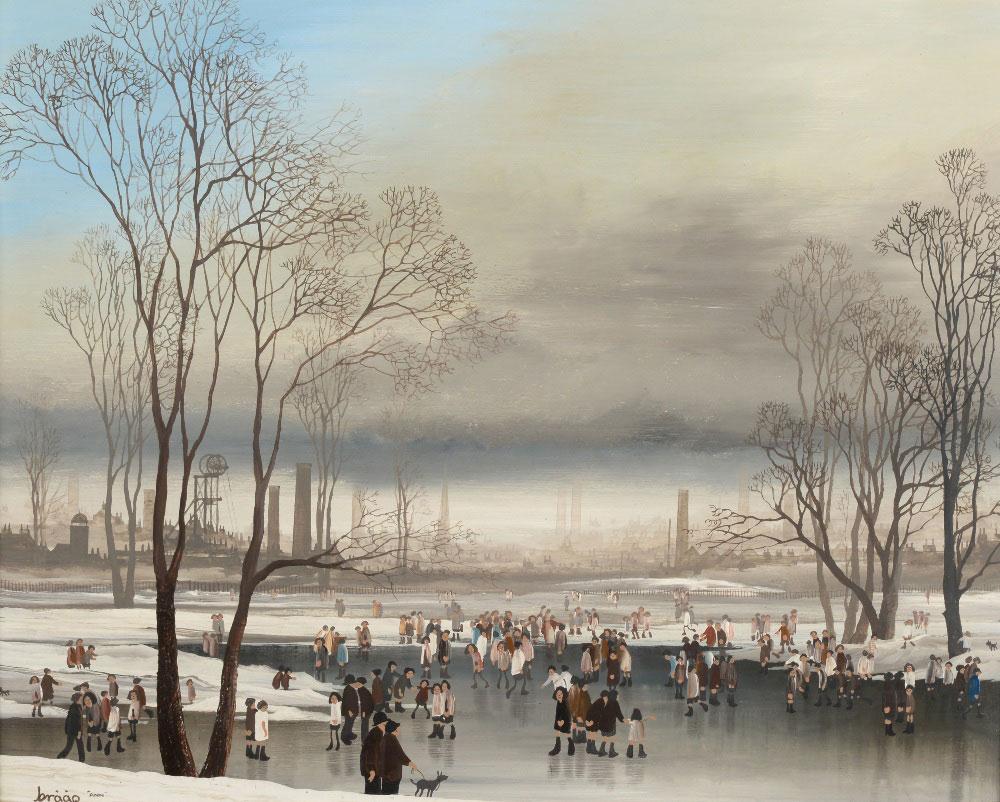 Brian 'Braaq' Shields 'Figures in a Frozen Landscape'