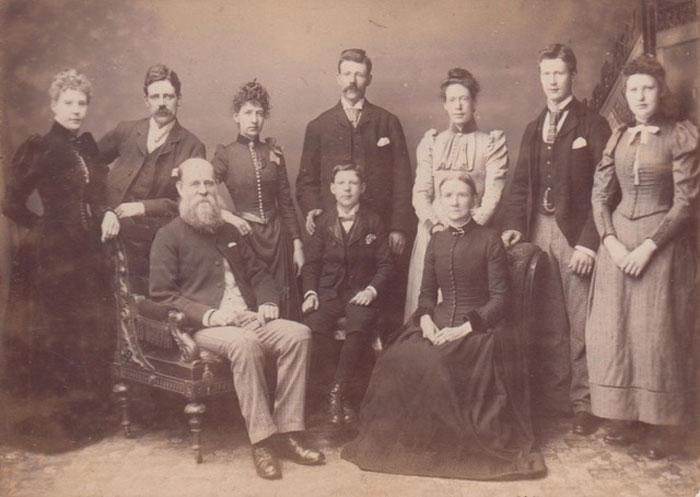 Walter Shaw family photo
