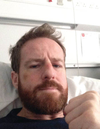 Neil recovering in hospital
