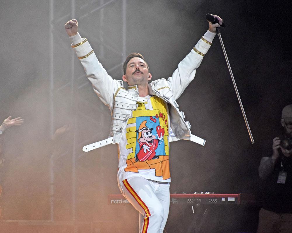 Queen Machine frontman Bjarke Baisner