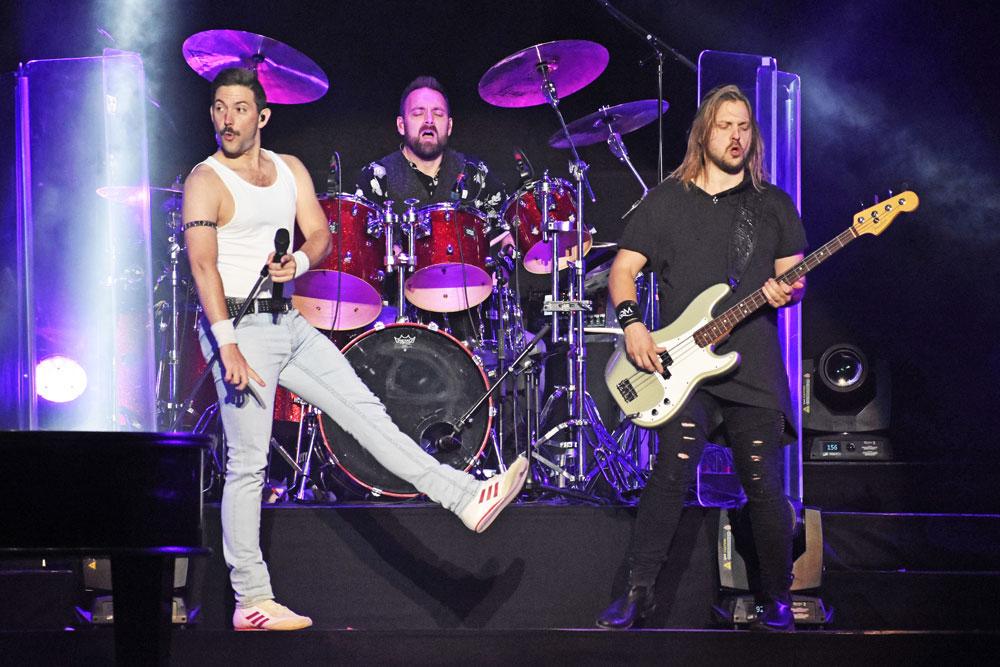Queen Machine's Bjarke Baisner, Paolo Romano Torquati and Jens Lunde