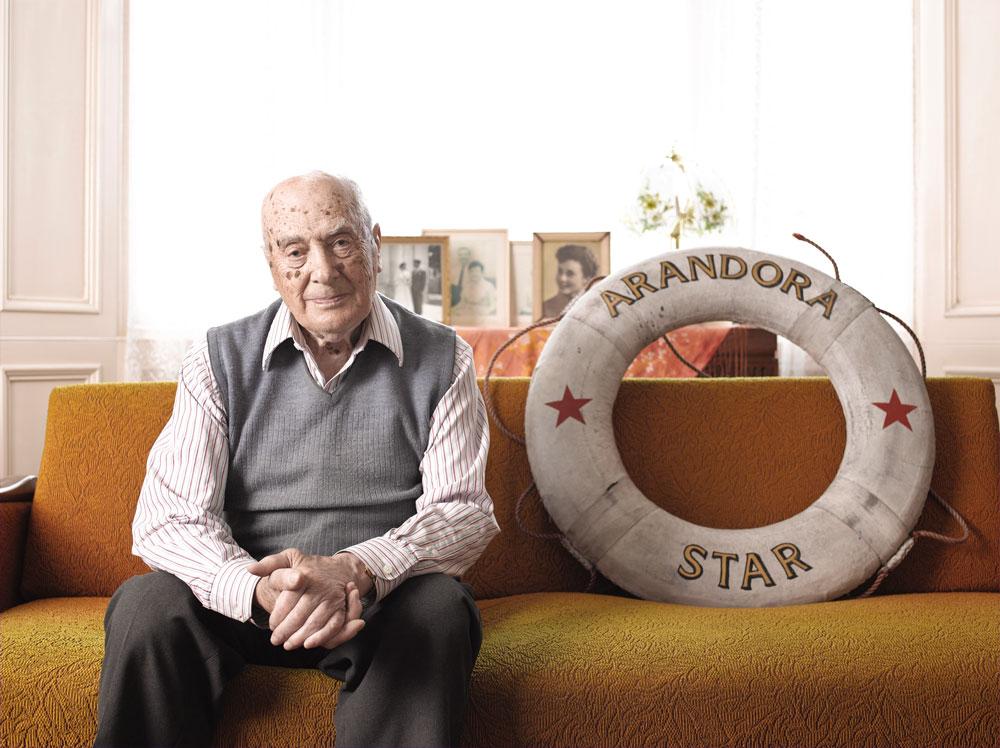 Arandora Star Survivor Rando Bertoia by Phil Melia