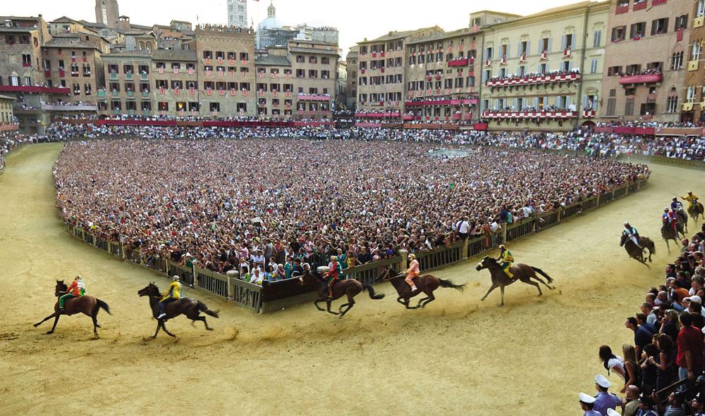 The Palio of Siena by Phil Melia