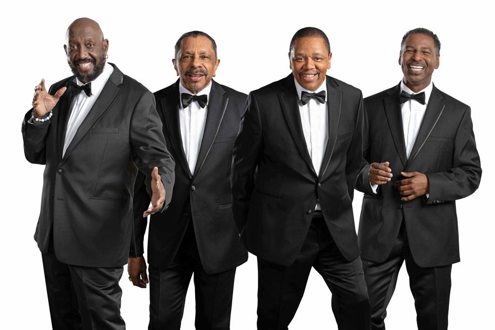 Otis Williams with The Temptations