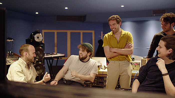 Heir in the studio at Abbey Road